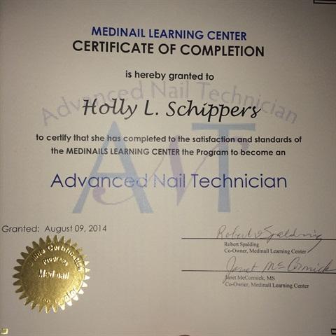 Medinail Advanced Nail Technician Course Nails