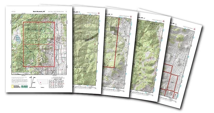 Mapas gratis de EEUU para imprimir en casa