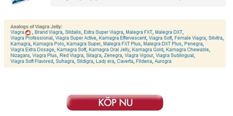 På Nätet Apotek / Beställa Viagra Oral Jelly Läkemedel / Inget recept Krävs