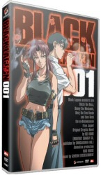 Black Lagoon Volume 1 DVD cover art
