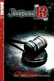 Cover art for Tokyopop's Juror 13