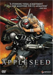 Appleseed DVD cover art