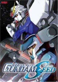 DVD cover art for Mobile Suit Gundam Seed, Vol. 1: Grim Reality