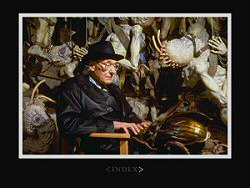 William S. Burroughs types away from Naked Lunch