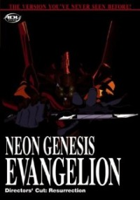 DVD cover art for Neon Genesis Evangelion: Resurrection, Director's Cut