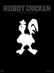 Robot Chicken Season 2 DVD cover art