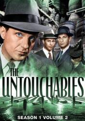 The Untouchables: Season 1, Vol. 2 DVD cover art