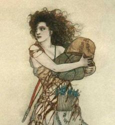 Illustration from Gustaf Tenggren