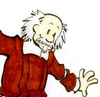 John Calvin and Thomas Hobbes by spacecoyote