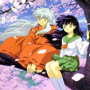 Kagome and Inuyasha from InuYasha