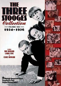 The Three Stooges Collection, Vol. 1: Years 1-2 DVD cover art
