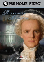 DVD cover art for PBS' Alexander Hamilton
