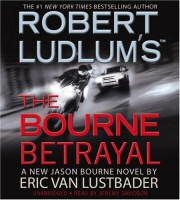The Bourne Betrayal audiobook cover art