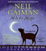 M is for Magic audiobook cover art