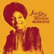 CD cover art for Nina Simone: Just Like a Woman