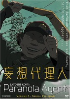 DVD cover art for Paranoia Agent, Vol. 3: Serial Psychosis