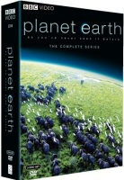 DVD cover art for Planet Earth: The Complete BBC Series