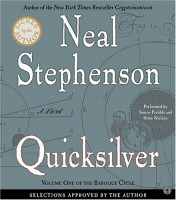Quicksilver by Neal Stephenson audiobook cover art