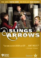 Slings and Arrows Season 3 DVD cover art