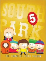 South Park: The Complete Fifth Season DVD cover art