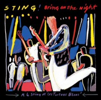 Sting's Bring on the Night CD cover art