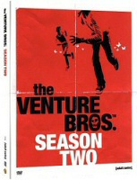 DVD cover art for Venture Bros.: Season 2