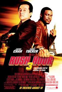 Rush Hour 3 movie poster art
