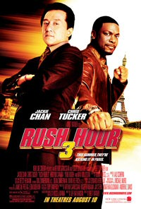 Rush Hour 3 movie poster art