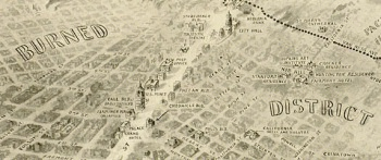 Map of the 1906 San Francisco Earthquake and Fire