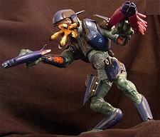 Halo action figure: Elite