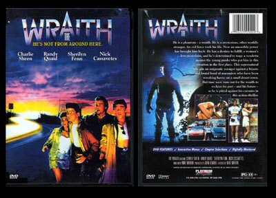 DVD cover art of The Wraith