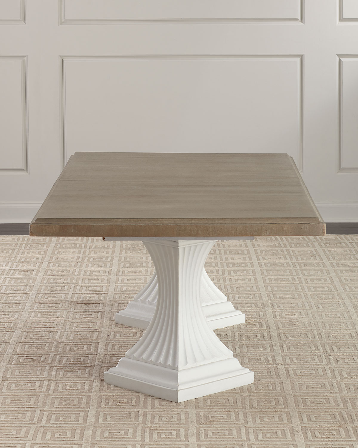 Pedestal Dining Table Double Pedestal Dining Table