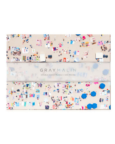 "Gray Malin ""Beach"" Double-Sided Jigsaw Puzzle"