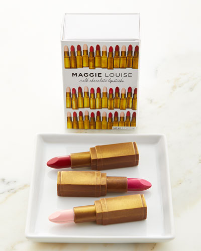Maggie Louise Milk Chocolate Lipsticks