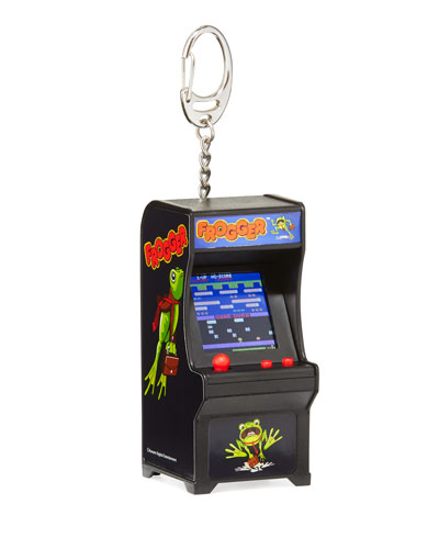 Kids Tiny Arcade Frogger Key Chain