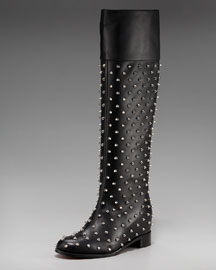 Christian Louboutin Spiked Boot