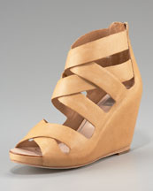 Dolce Vita Strappy Crisscross Wedge