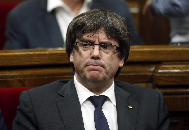 Image result for Catalan leader, Carles Puigdemont