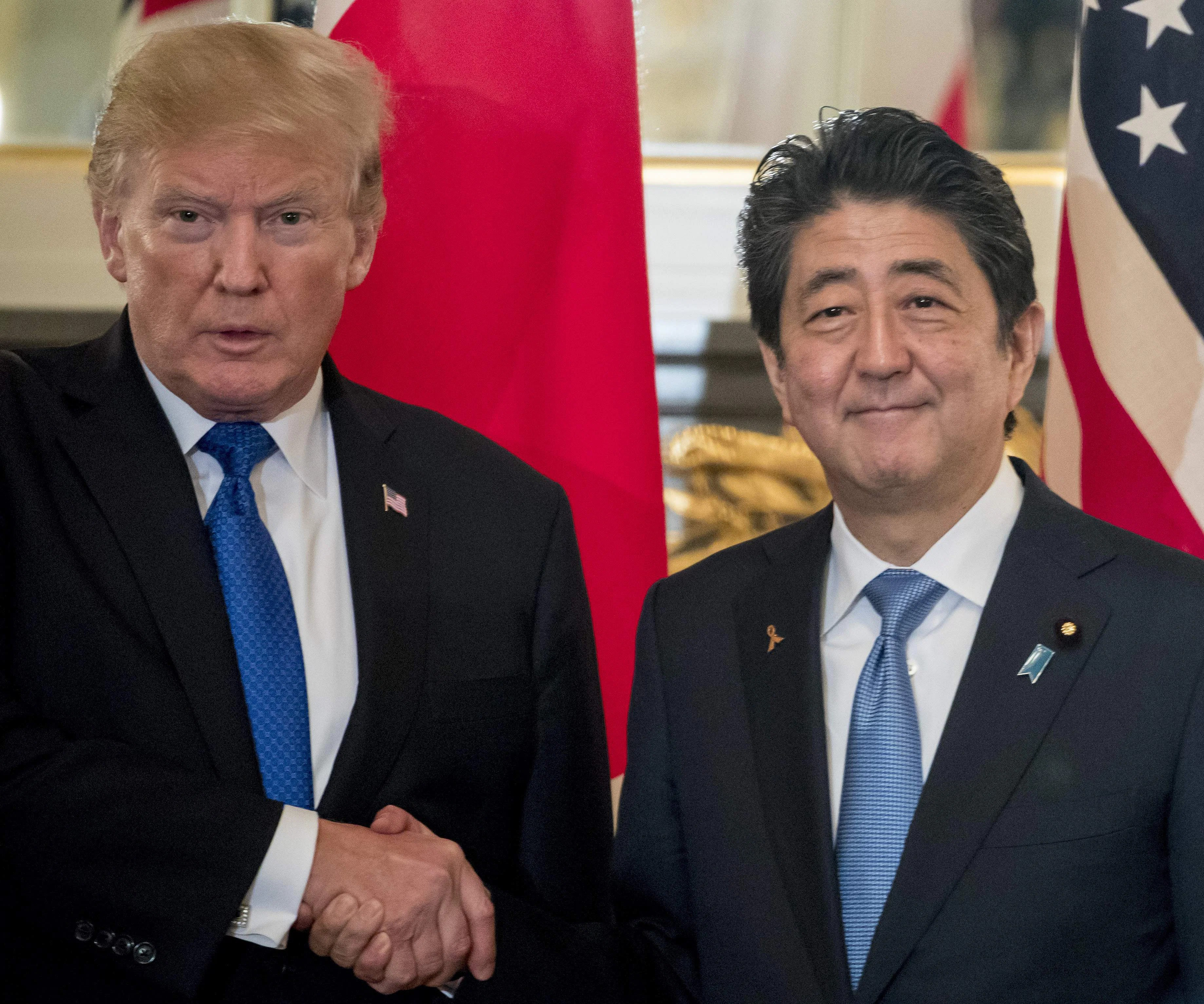 Image result for donald trump, in japan, photos