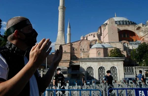 Turkish government formally makes Hagia Sophia museum as mosque