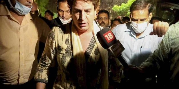 Not as important as those trampled to death': Priyanka Gandhi on  altercation with UP Police - The New Indian Express