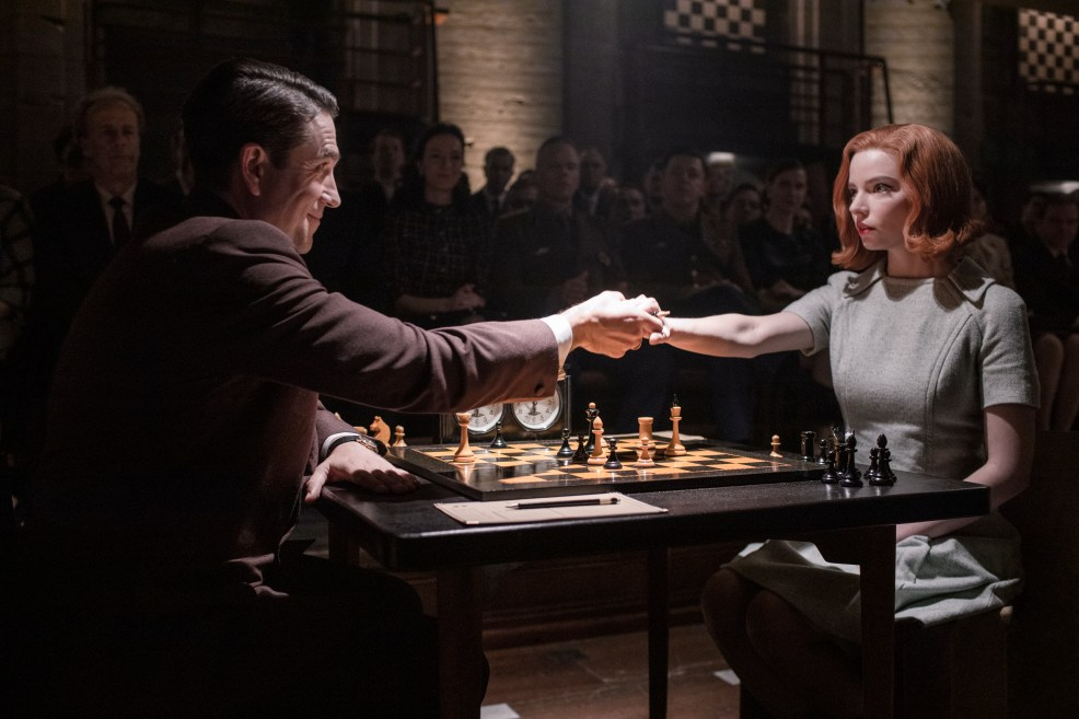 How The Queen's Gambit Reimagined Chess   The New Republic