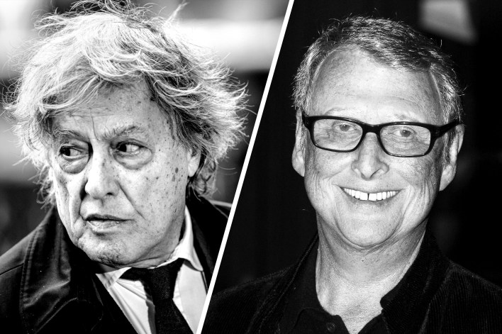 Tom Stoppard and Mike Nichols
