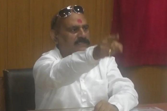 विधायक विजय मिश्रा ने गुंडा एक्ट की कार्रवाई को बताया राजनैतिक विरोधियों की साजिश