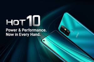 Infinix Hot 10 launched in India, 5 cameras will be available in less than 9000, 4GB RAM, 5200mAh battery