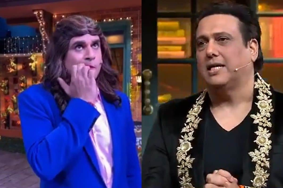 Diwali 2020: Govinda arrives in The Kapil Sharma then Krishna Abhishek  disappears | खबरBharat