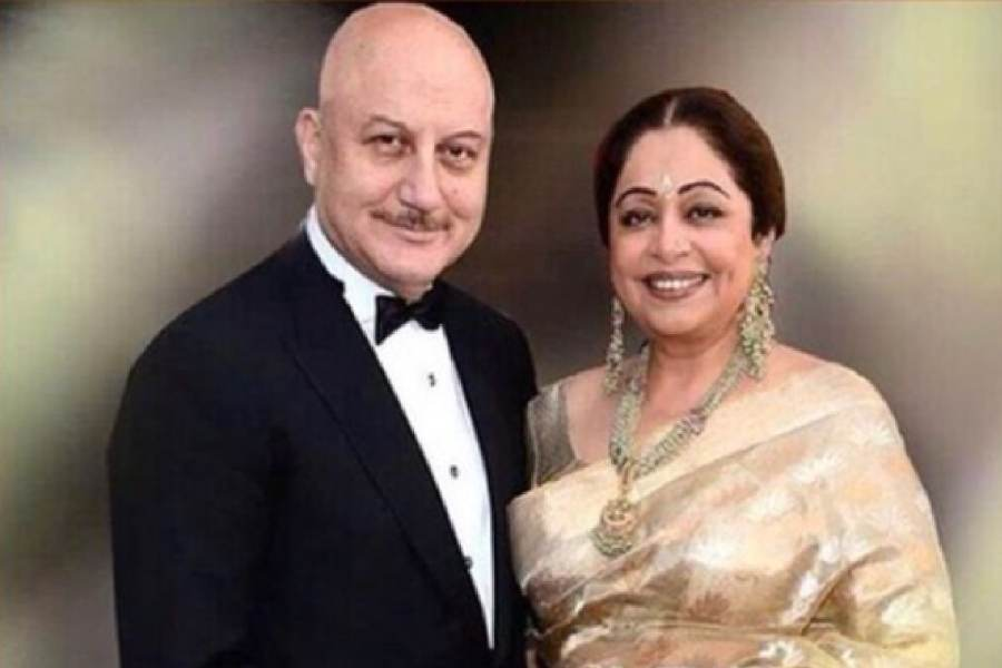 Kirron Kher is celebrating her 69th birthday today.  photo credit: @anupam kher instagram