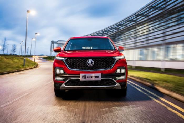 MG Hector SUV. (Image: MG Motor India)