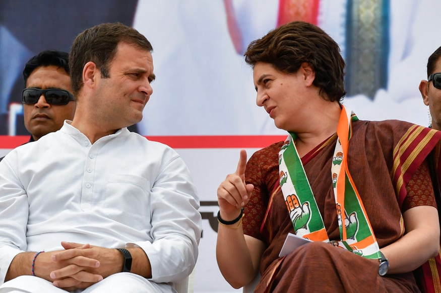 File photo of Congress President Rahul Gandhi and party General Secretary Priyanka Gandhi Vadra. (Image: PTI)