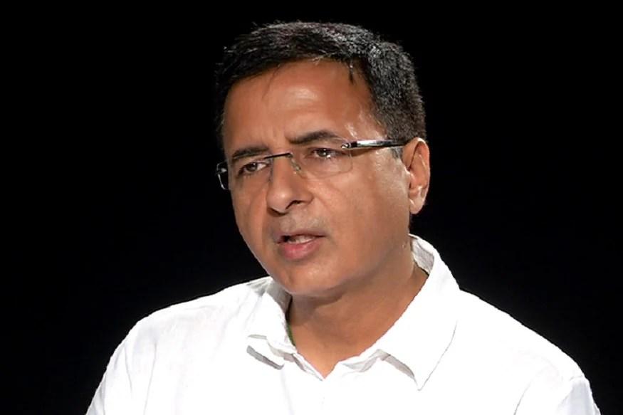 File photo of Congress spokesperson Randeep Singh Surjewala.